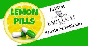 Lemon Pills cover band Live all'Emilia 31 Imola